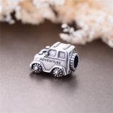 Het zilver parelt Uitstekende Auto voor Europese Armband