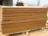 Sandstone chinês popular, Sandstone amarelo, telha rachada, revestimento da parede