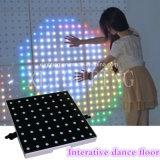Sensible fuertemente vídeo interactivo LED Pista de baile
