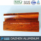 Aluminiumprofil-Aluminiummöbel-Schrank-hölzernes Korn kundenspezifische Farben-Größe
