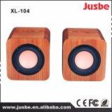 диктор XL-104 профессионального звука книжных полок 4-Inch деревянный