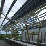 El mejor metal del diseño estructura el edificio del mercado para Isla Mauricio