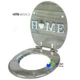 Soft Fermer/ Lenteur de fermer les sièges de toilette de remplacement de la famille MDF/HDF Wc sièges