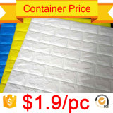 Venta al por mayor baratos Autoadhesivo Fácil instalación Panel de pared de espuma de PE