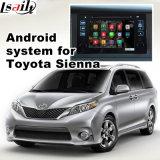 De androïde GPS Doos van het Systeem van de Navigatie voor de VideoInterface van de Oker van Toyota