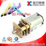 Mini motore innestato CC di N20 12mm per la penna di stampa 3D