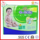 Venta caliente del algodón del bebé del cuidado de los pañales suaves estupendos del bebé