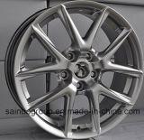 Серебристый / Hyper черный / хромированные колеса F101016 Car легкосплавные колесные диски