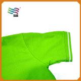 Chemise en coton à manches courtes 80% coton avec impression personnalisée