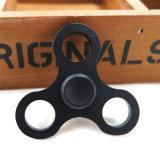 Brinquedo colorido da inquietação do EDC da liga de alumínio do girador da mão do trevo do círculo