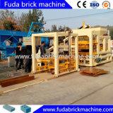 Qt4-15 sistema hidráulico automático de los bloques de ladrillos huecos de las máquinas que Dubai