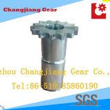 금속 산업 스테인레스 스틸 단조 휠 기어 스프로킷