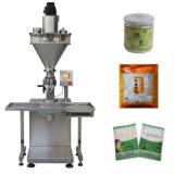 Machine de remplissage de l'étiquetage de la poudre semi-automatique de dosage de la machine de remplissage et de l'emballage