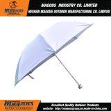 Acier se pliant annonçant l'anti parapluie UV