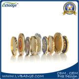 다이아몬드 가장자리 디자인을%s 가진 주문을 받아서 만들어진 도전 동전
