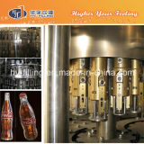 Glasflaschen-Kolabaum-füllende Zeile