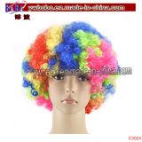 Parte el tema Afro peluca parte elementos de la fiesta de cumpleaños de accesorios (C3024)