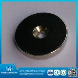 De Permanente Pot van uitstekende kwaliteit NdFeB van de Zeldzame aarde om de Magneet van de Basis