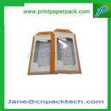 Kundenspezifisches Belüftung-Fenster-Papier-Geschenk-verpackenarmband-Halsketten-Kasten