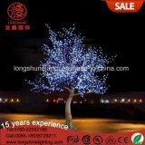 색깔 변경 크리스마스 6W 7.5m 3.5m LED 훈장 빛을%s 잎이 많은 버찌 Plam 나무 빛
