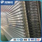 Mate de plata con ranura en T de aluminio anodizado de perfiles de aluminio industrial para la línea de montaje