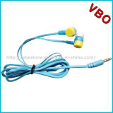 2016 Fashion Wholesale Headsets Colorful Wired Stereo Earphone