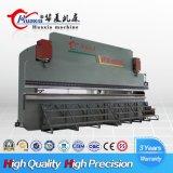 Flexión de lámina metálica hidráulico enorme máquina de prensa de doblado