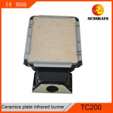 Aquecedor do queimador de cerâmica TC200 para Churrasco churrascos Automática