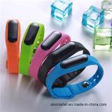 Hecho en China Bluetooth inteligente pulsera con Bluetooth Llamada de vibraciones, Manual de pulsera Bluetooth, Bluetooth Bracelet