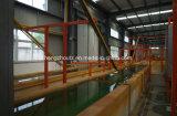 Chaîne de production automatique d'enduit de poudre pour les produits en acier