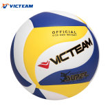 Hochwertiger echtes Leder-Konkurrenz-Volleyball