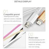 Nylon Foudre Micro USB Chargeur Câble de charge pour Samsung