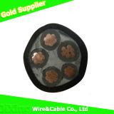 Conducteur en cuivre 0.6/1kv XLPE/PVC/PE Câble isolé
