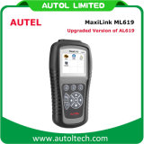 Autel Maxilink ML619 DIAGNÓSTICO DO VEÍCULO OBD2 Leitor de código de Ferramenta de Varredura Autolink Al619