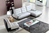 Form-ledernes Sofa-moderne Wohnzimmer-Möbel (HX-SN046)