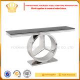 Mobiliário de aço inoxidável SJ916 mobiliário de sala de estar moderna mesa de suporte para TV