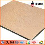 El panel compuesto de aluminio aplicado con brocha Ideabond del panel de emparedado