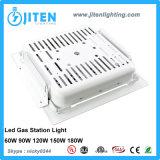180W IP66 LED 세륨 RoHS를 가진 주유소를 위한 천장에 의하여 중단되는 닫집 빛에 60W