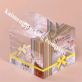 Feito na China Food Grade Clear Pet Plastic Moving Box para Gift Package (caixa móvel)