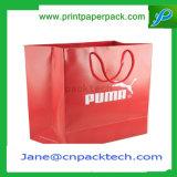 Ha annunciato il sacchetto promozionale della carta kraft delle borse di acquisto dell'elemento portante
