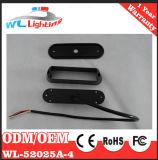 Luz de grade de advertência de LED 24V 4 LED para veículo de emergência