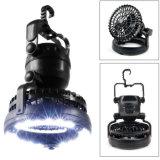 Lampada di campeggio LED del ventilatore esterno portatile del nuovo prodotto