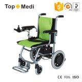 Кресло-коляска удобоподвижности электричества Topmedi супер облегченная