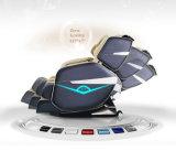 Роскошный электрический Bluetooth Музыка Shaitsu массажное кресло