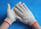 Датчик 10 отбелил перчатки хлопка белой работы техники безопасности на производстве защитные работая