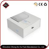 La tarjeta blanca personalizado Embalaje Caja de papel de regalo para la película de PVC Pet