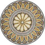 La pierre naturelle marqueterie de marbre médaillon jet d'eau Mosaïque