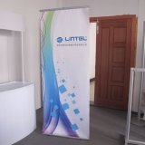 Pólo de alumínio Single Sided L Banner, Banner Stand
