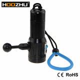 Hoozhu V13 크리 말 Xm-L 2 LED 3000 Lm는 100m LED 플래쉬 등을 방수 처리한다