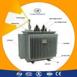 трехфазный шаг 50~8000kVA вверх по Oil- погруженному трансформатору